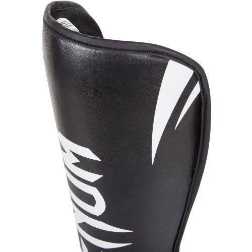 Защита ног Venum Challenger Standup Shinguards Black/White-XL