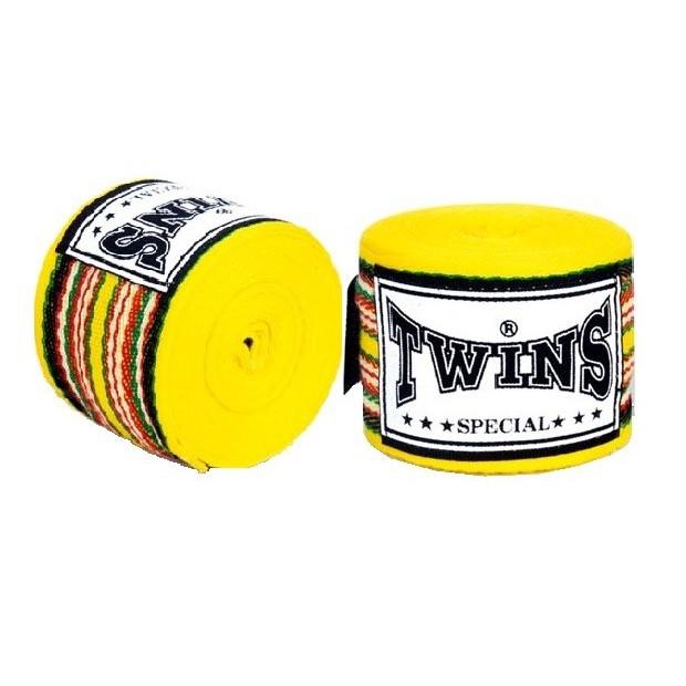 Бинты Twins (CH-2) 4,5м-желтый