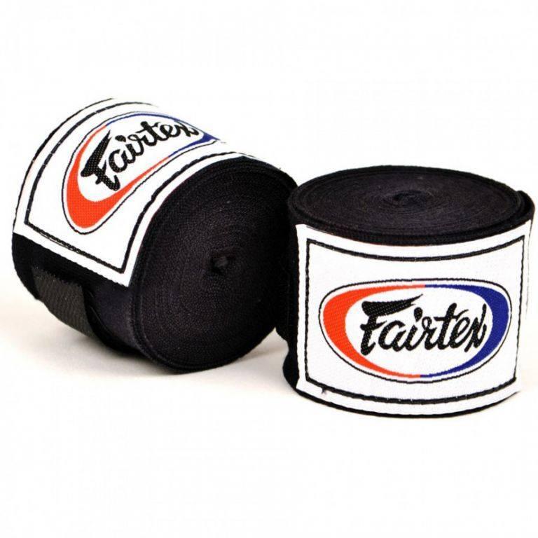 Бинты Fairtex (HW2) 4,5м-черный