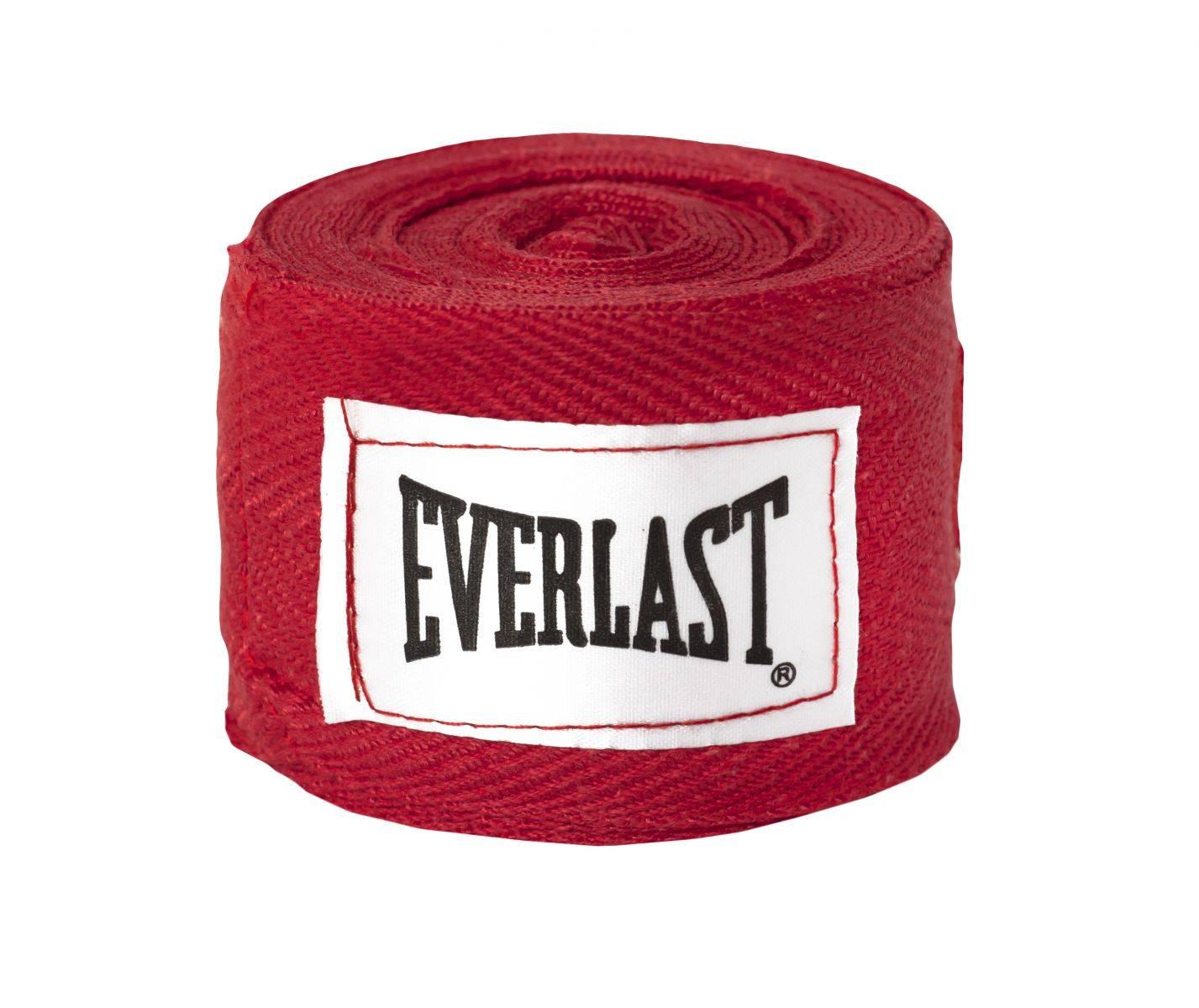 Бинты Everlast 3,05м-красный