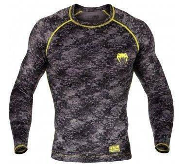 Рашгард Venum Tramo Rashguard Long Sleeves Black/Yellow-L