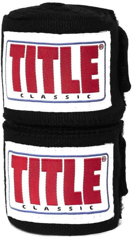 Бинты боксерские TITLE Classic Weave 4,57м