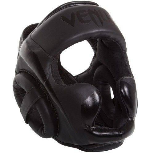 Шлем Venum Elite Headgear Matte Black-универсальный