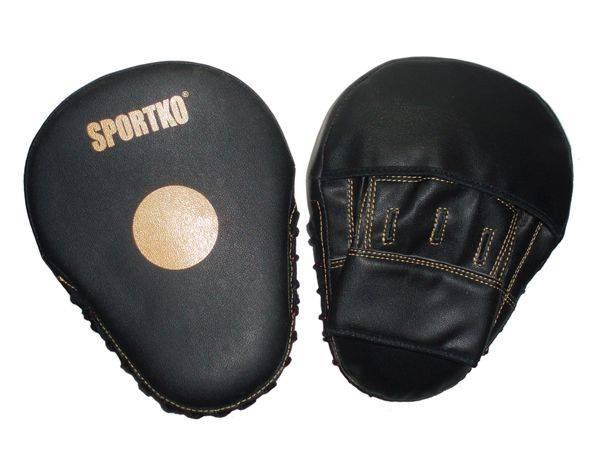 Лапы боксёрские Sportko ПД5-черный