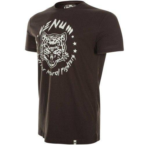 Футболка Venum Natural Fighter Tiger Brown