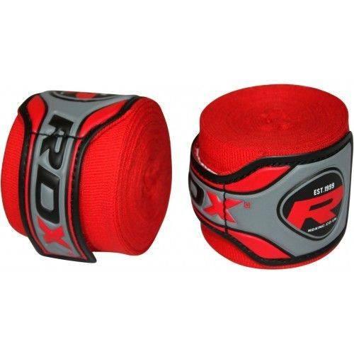 Боксерские бинты RDX Fibra Red-4,57м