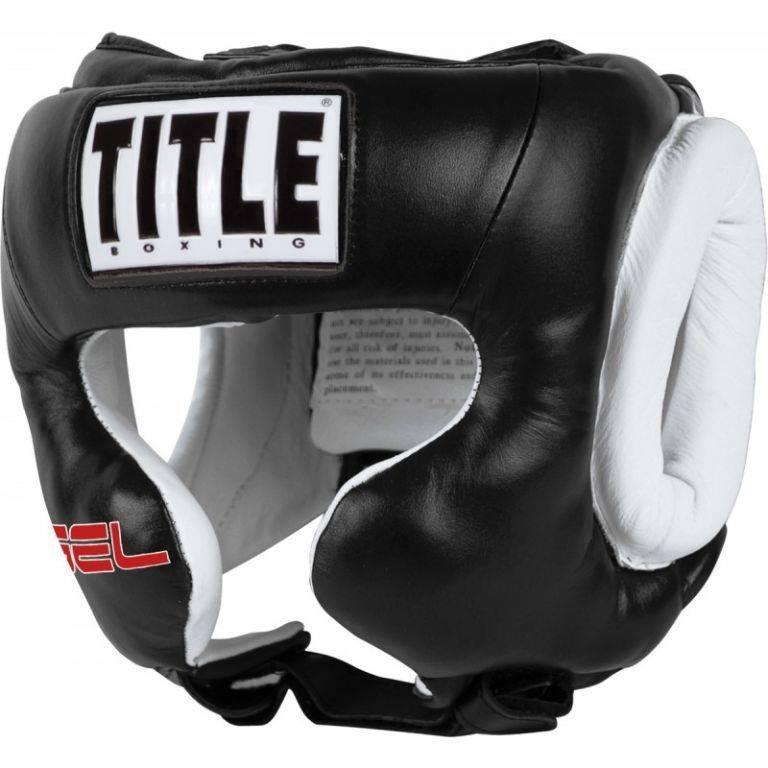 Шлем для бокса TITLE Gel World Training Headgear-L