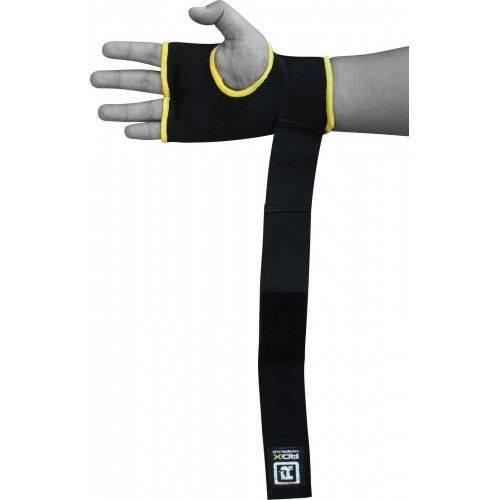 Бинт-перчатка для бокса RDX Inner Gel Black-S