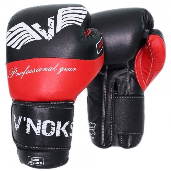 Перчатки для бокса V`Noks Potente Red-10
