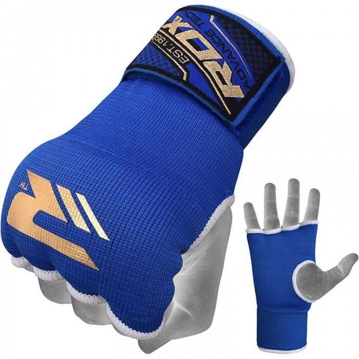 Бинт-перчатка для бокса RDX Inner Gel Blue-S