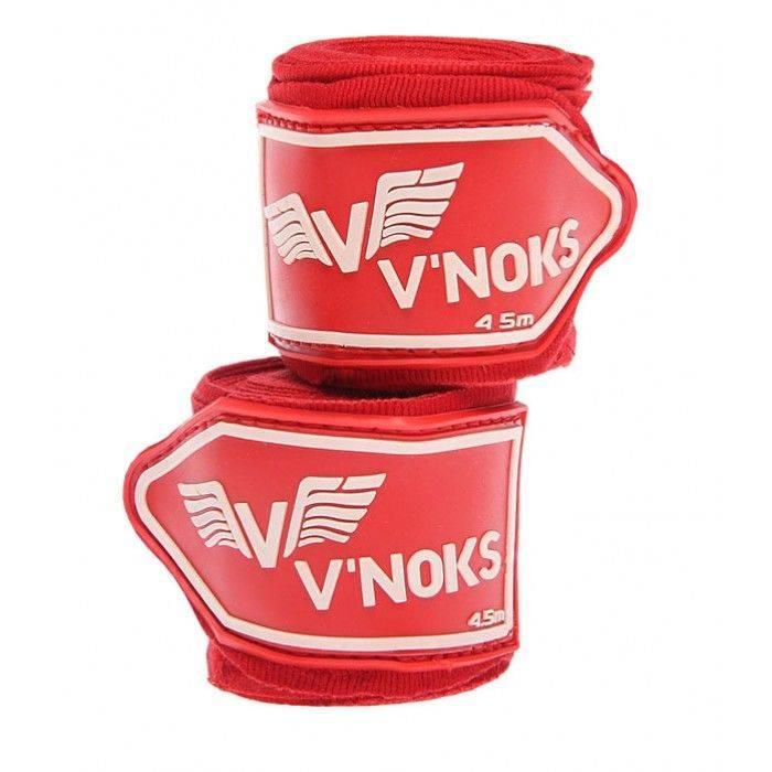 Бинты боксерские V`Noks 4,5m Black/Red