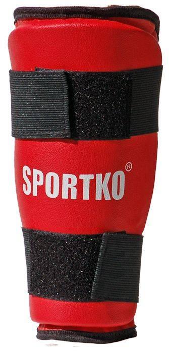 Защита голени Sportko арт. 332 Red/Blue-S