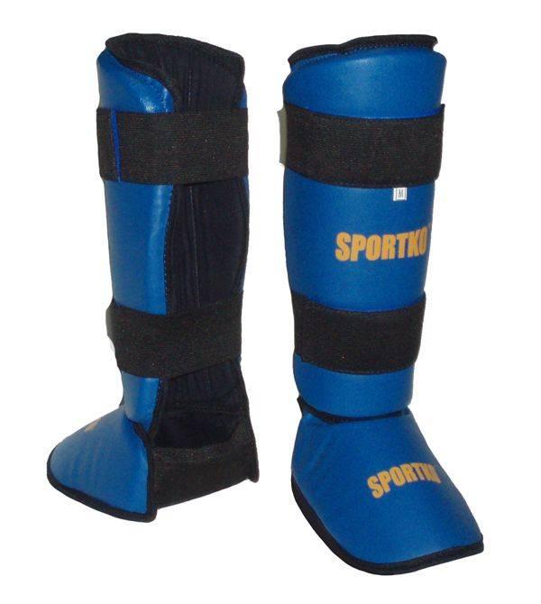 Защита для ног Sportko арт. 331 Blue/Red-S