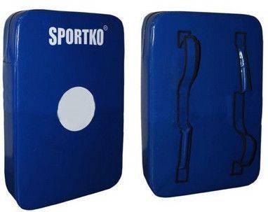 Макивара двойная люкс SportKo М3-синий