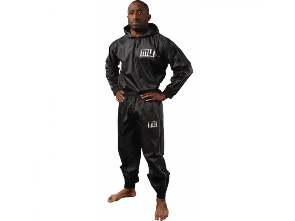 Костюм для сгонки веса TITLE Sauna Suit With Hood M