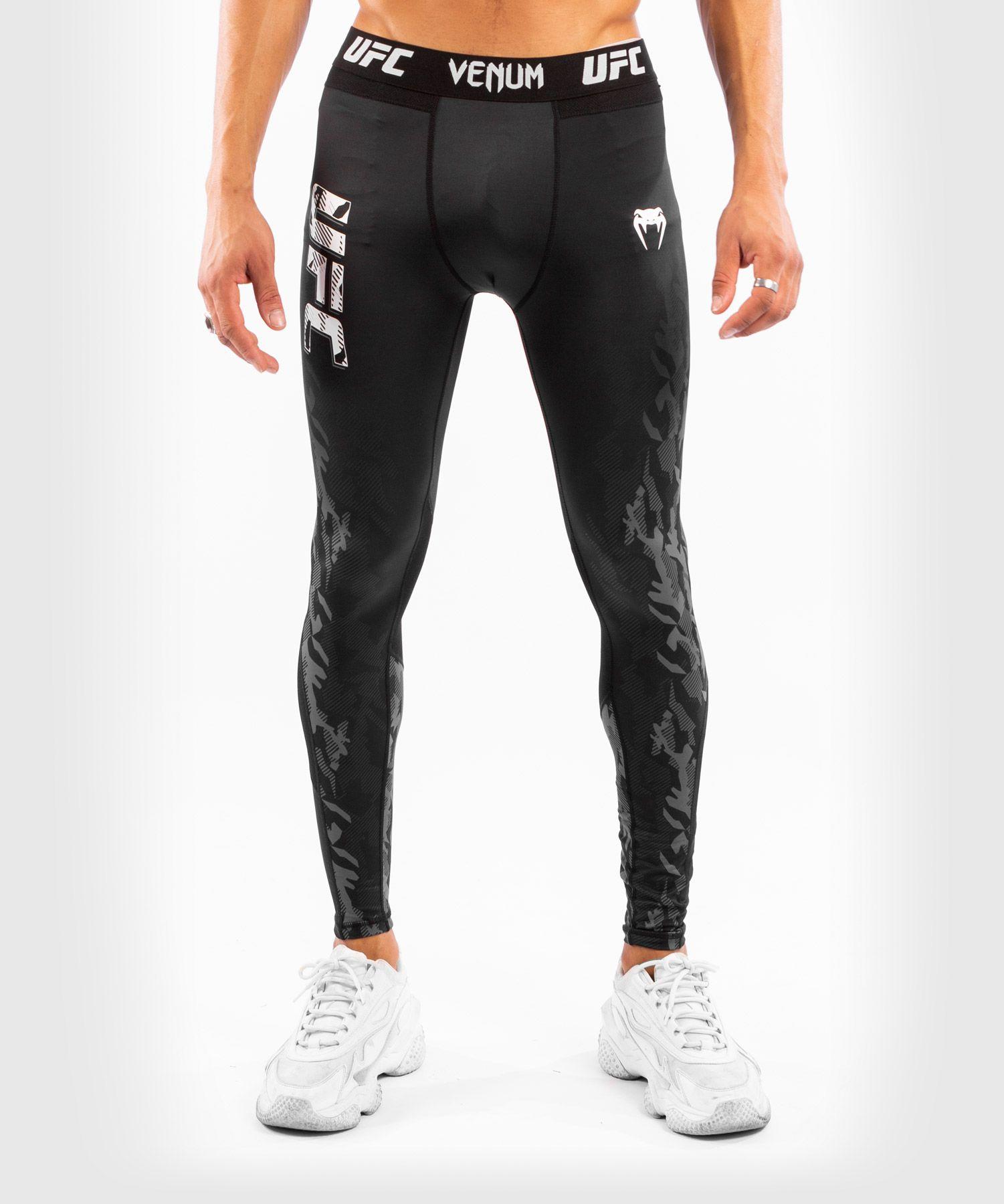 Мужские компрессионные штаны UFC Venum fight week performance - Black XS
