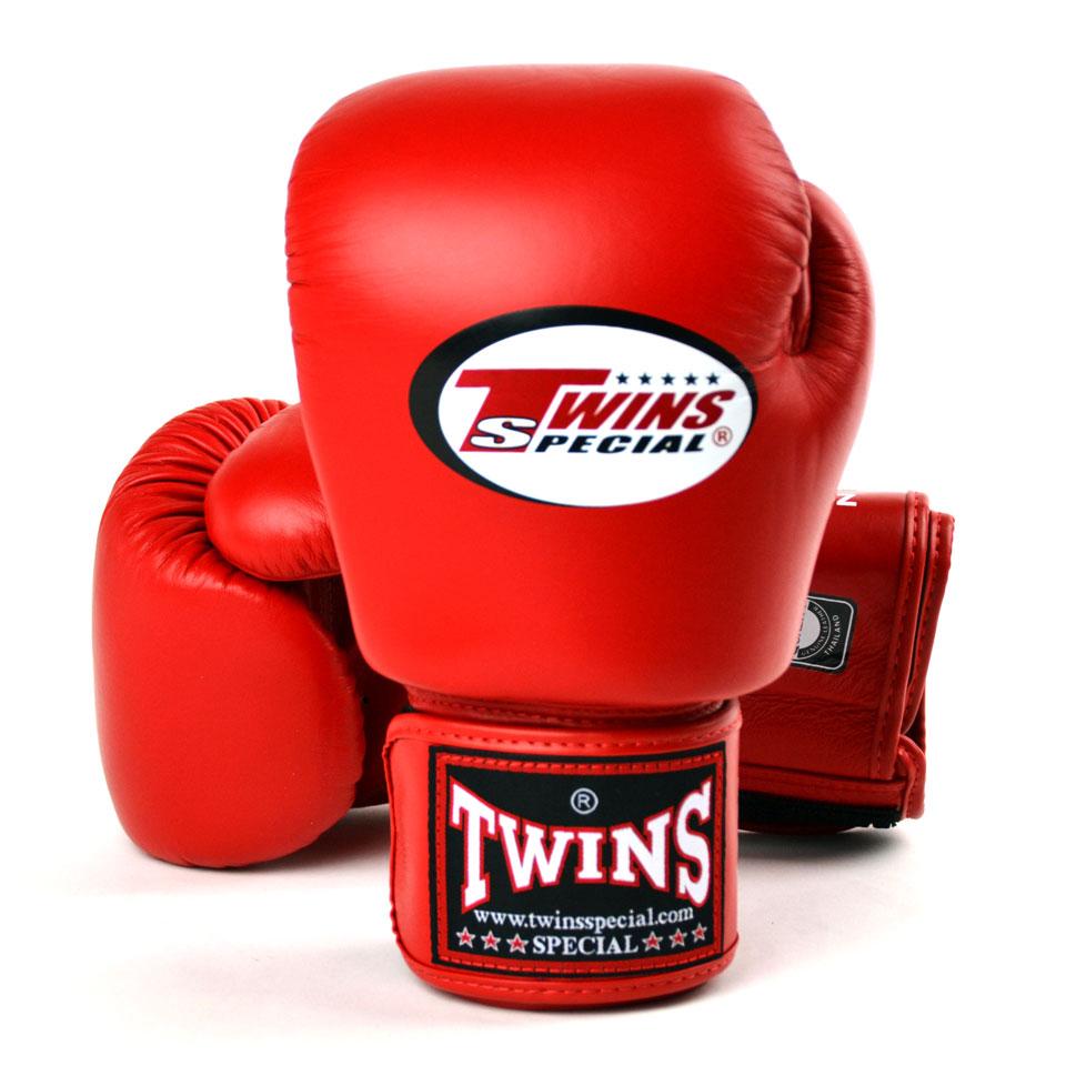 Боксерские перчатки Twins Special BGVL-3 Красные 10 унций