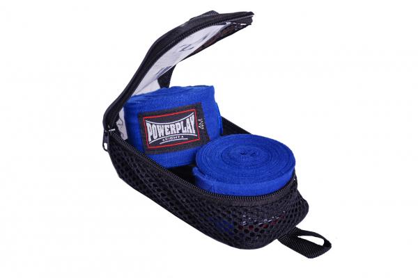 Боксерские бинты PowerPlay 3047 (4м)-синий