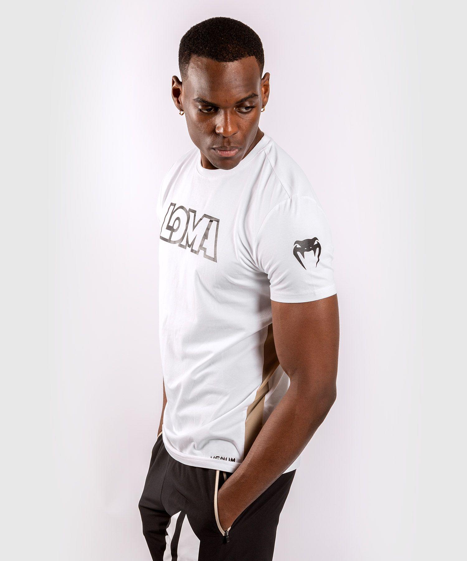 Футболка Venum Origins T-shirt Loma Edition White Размер: M