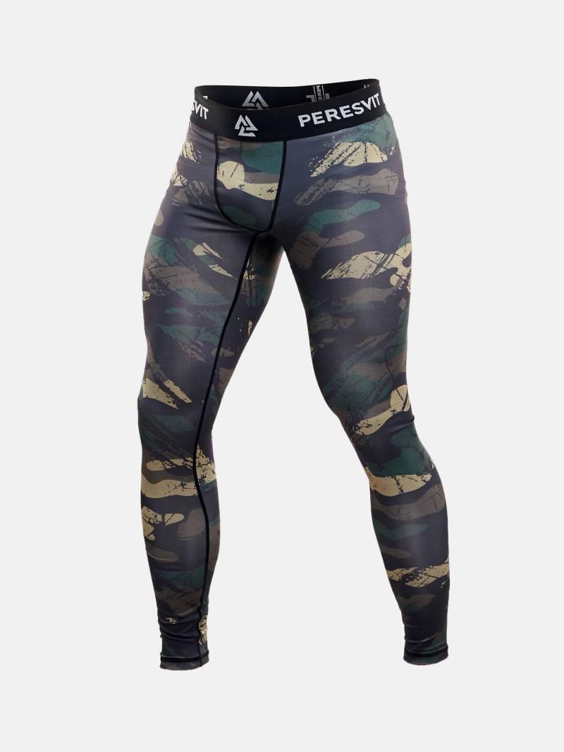 Компрессионные штаны Peresvit Grunge Camo MMA Leggings S