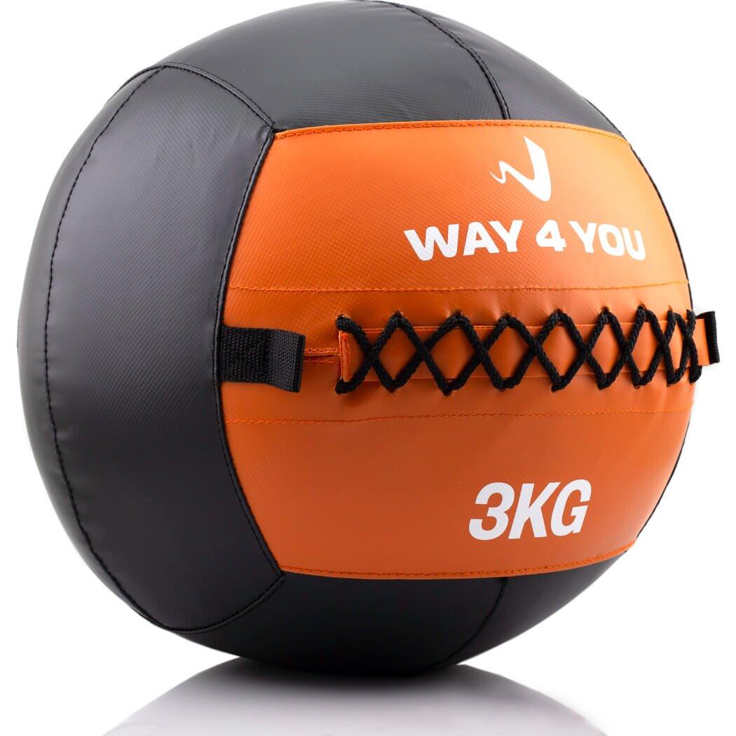 Набивной мяч Wall Ball (медбол) Way4you 3кг