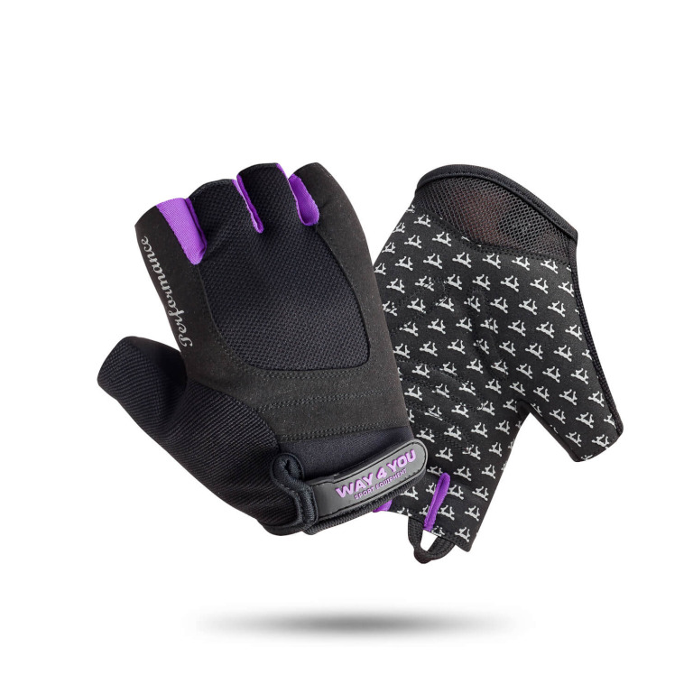 Перчатки для фитнеса Женские Way4you Violet S