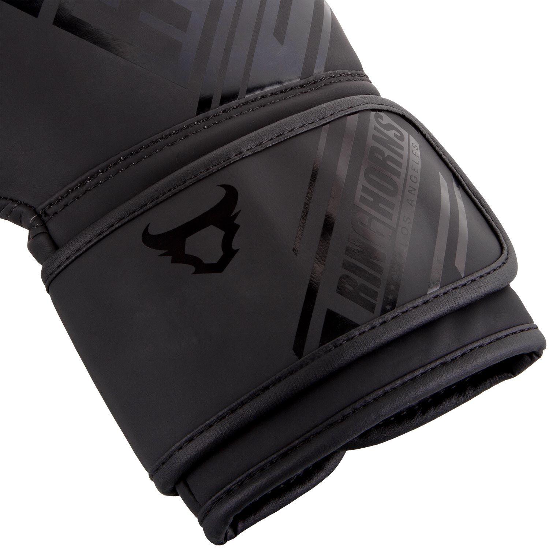 Перчатки Ringhorns Nitro Boxing Gloves Black 12 унций