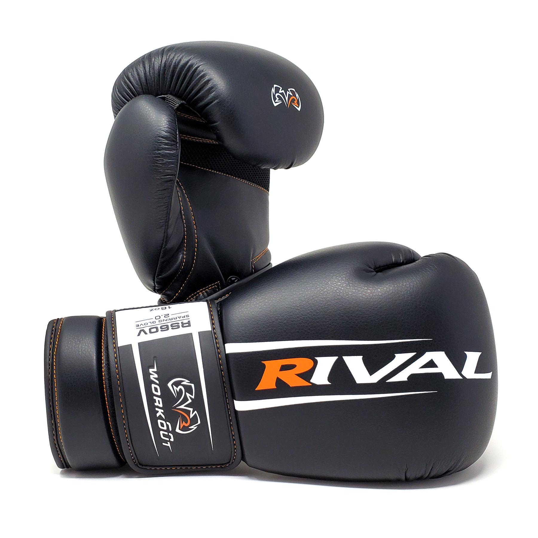Боксерские перчатки RIVAL RS60V Workout Sparring Gloves 2.0 12 унций