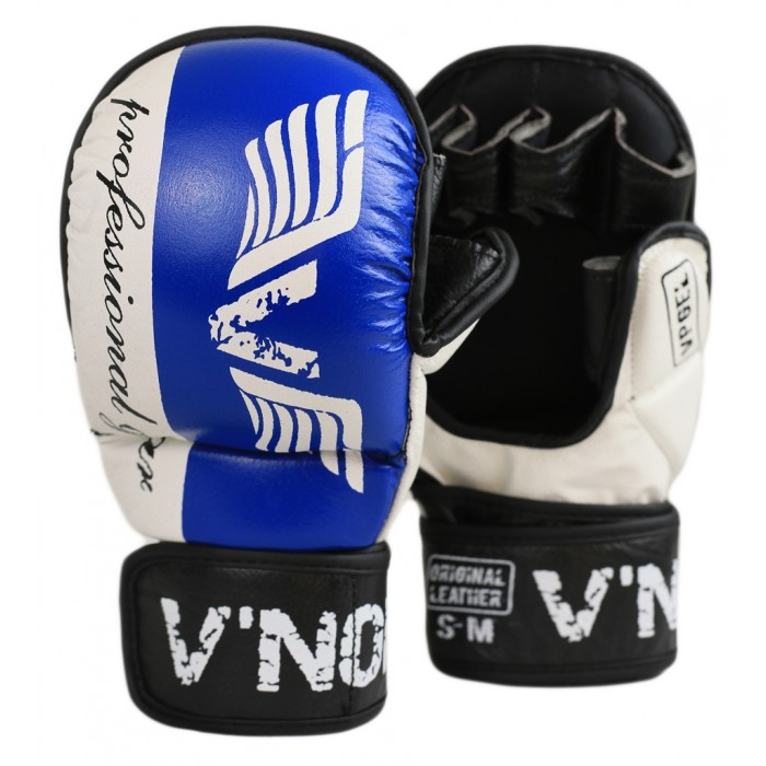 Перчатки MMA V`Noks Lotta Blue-S/M